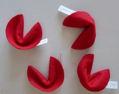 red fortune cookies