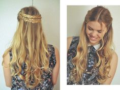 cute hairstyle :)