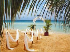 Beach wedding ideal