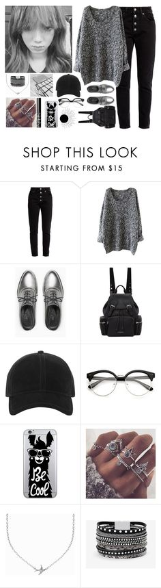 """~.~"" by angela-0 ❤ liked on Polyvore featuring Balenciaga, Max&Co., Burberry, rag & bone, OTM Essentials, Minnie Grace, White House Black Market and NARS Cosmetics"