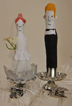 Klemmerle-Set Brautpaar Nr. 3
