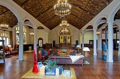 Church House. How would you like to live there?