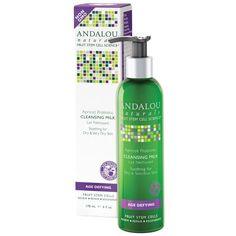 Andalou Naturals Cleansing Milk for Dry Sensitive Skin - Apricot Probiotic - 6 fl oz