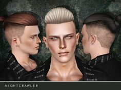 Nightcrawler Sims' Nightcrawler_AM_Hair06
