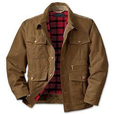 Oil Finish Shelter Cloth Westlake Waxed Jacket