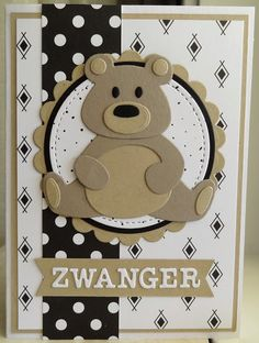 Scrapbook Sketches, Scrapbooking Layouts, Marianne Design Cards, Punch Art, Baby Cards, Craft Stores, Homemade Cards, Baby Love, Panda