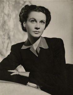 Portrait of Vivien Leigh  in Heartbreak House, 1940's. Photo by Fred Daniels