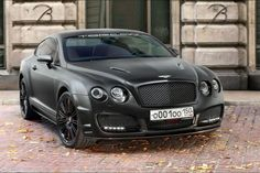 Bentley Continental GT 'Blacked Out'