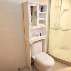 Beachcrest Home Belgrade X Free Standing Over The Toilet Cabinet