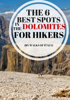 The dolomites are some of the most beautiful mountains in the world. Here's a list of our favorite spots for outdoor lovers. Sorrento Italy, Naples Italy, Sicily Italy, Venice Italy, Amalfi Coast Holidays, Weather In Italy, Toscana Italy, Hiking Spots, Hiking Tours