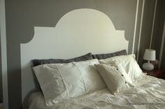 Have a New Headboard By Tonight: 7 Easy Painted DIYs You Can Really Handle