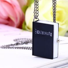 Death Note Pocket Watch Necklace