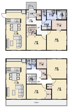House Floor Plans, Homes, Japan, Flooring, How To Plan, Home Plants, Houses, Home, Wood Flooring