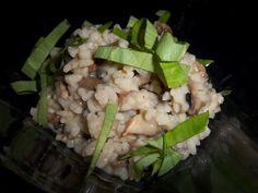 Delicious: Risotto mit Champignons, Risotto with mushrooms