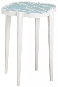 Loft Accent Table - would be a cute DIY paint pattern