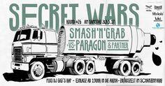 BÄÄM Secret Wars Live Art Battle - Round #26 ! Be there or be square  20.05.2017 @secretwarshh // #secretwarshamburg #secretwars  #liveart #battle #streetart #hamburg #schanze #schanzenzelt #lukihq // #iriedaily #reclaimthestreets