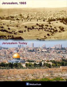 #Jerusalem then and now