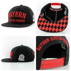 The new exclusive merchandise collection for FC Bayern München Basketball is now available: Bayern Hustles Harder