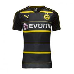 BVB BoRussland Dortmund 16-17 Borte Drakt Kortermet.  http://www.fotballteam.com/bvb-borussland-dortmund-16-17-borte-drakt-kortermet.  #fotballdrakter