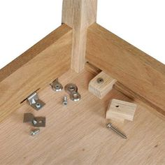 Woodworking is one of the most fun crafts around. In this article, I'm going to share with you some woodworking tips and tricks I've accumulated over t Woodworking Joints, Woodworking Supplies, Easy Woodworking Projects, Woodworking Techniques, Wood Projects, Woodworking Plans, Table Legs, A Table, Wood Joinery