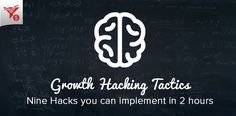 Growth Hacking Tactics: 9 Hacks to Implement In 2 Hours Online Marketing Strategies, Growth Hacking, Economics, Case Study, Ecommerce, Digital Marketing, Hacks, Writing, Startups
