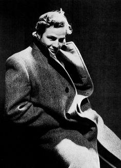 Marlon Brando Photographed by Cecil Beaton, circa 1950.