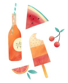 Summatime Art Print