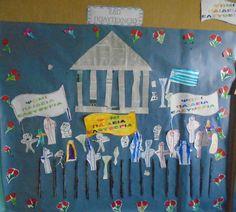 Kindergarten Decoration, Peace, Blog, Crafts, Manualidades, Blogging, Handmade Crafts, Craft, Arts And Crafts