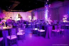 Round and Square Tables | Wedding Reception at Heaven Event Center