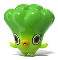 Broccoli by Hiroshi Yoshii.