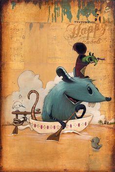 Teatime Buccaneers    by Johan Potma