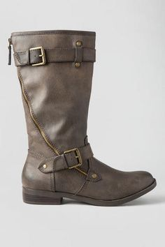 Henriette Buckle Boot in Brown