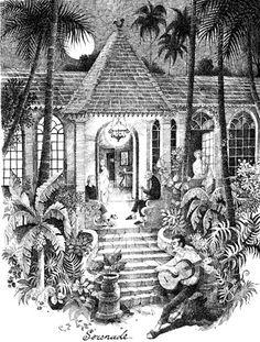 Serenade : Sketch by my idol Mario Miranda