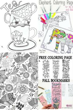 Colouring Pages for grown ups - 15 Fantastic Free Colouring Pages for Adults