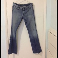 7 for all mankind womens jean 7 for all mankind,  size 29x33, used, good condition,pets & smoke free home, thanks for looking 7 for all Mankind Jeans Boot Cut
