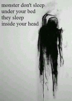 You create your monsters...