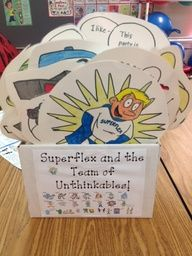 I want to make this for my students along with the Superflex curriculum.  Love the Superflex stuff!