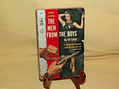 Men From The Boys by Ed Lacy Pocket PB 1152 1st Print Apr 1957 Lou Marchetti