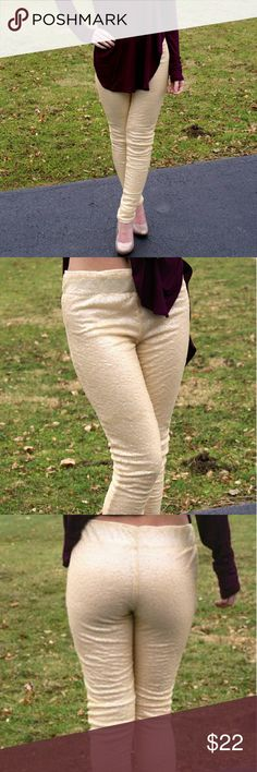 << Shine Bright Sequin Sparkle Leggings >> Shine brighter than the sun in these babies! Y'all loved our holiday edition sequin leggings, now gear up for a summer style! Elastic waist for a comfy fit. Width: 14 Inches, Length: 40 Inches Self& Lining: 100% Polyester Made in China  Available in small and med Twang Boutique  Pants Leggings
