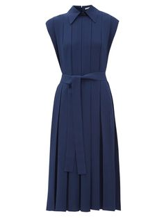 Shop our must-have selection of women's Emilia Wickstead Dresses hand-picked by MATCHESFASHION Day Dresses, Casual Dresses, Fashion Dresses, Dresses For Work, Boho Dress, Dress Up, French Outfit, Mode Costume, Emilia Wickstead