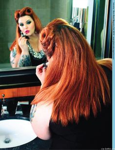 Fave plus size pinup model!TESS MUNSTER!