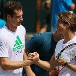 Murray and Mauresmo: have decided to work together over the long term