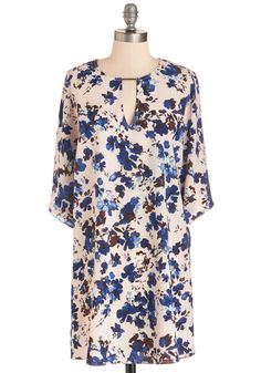 Promise to Impress Dress. You cant go wrong with this floral shift dress!  #modcloth