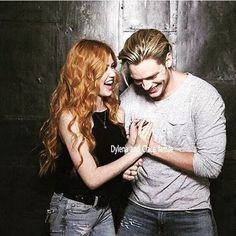"58 Likes, 3 Comments - Clarissa Herondale Fairchild (@clace_and_ezria_4ever) on Instagram: ""#Clace Dominic Sherwood and Katherine McNamara"""