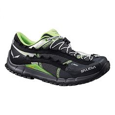Salewa Womens Speed Ascent GTX Shoes Carbon  Emerald 9  Hiking Sock Bundle *** Click on the image for additional details.(This is an Amazon affiliate link and I receive a commission for the sales)