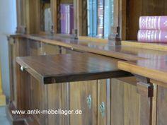 Antik Möbellager   Regal Bücherregal Nussholz Antik Neuanfertigung Berlin  Möbel