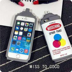 Individual 3D Lackspray Dosen silikon Handyhülle für Iphone5/5S/6/6plus