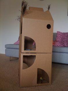 DIY - Two Story Cat Climber