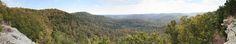 Leatherwood Wilderness Arkansas [OC] [18949x3615]