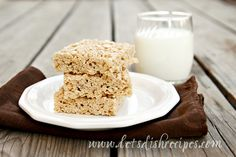 Browned Butter Cinnamon Spice Rice Krispies Treats